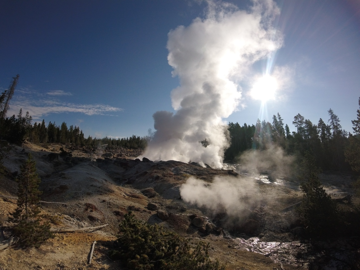 Yellowstone National Park: Day 1